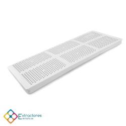 Mosquitero pástico para rejilla de ventilación A-200 - Perfil