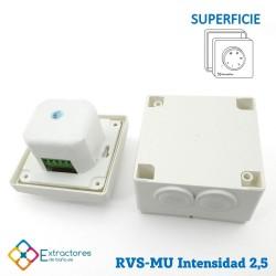 Regulador de velocidad RVE-MU-2,5 Empotrable - Inferior